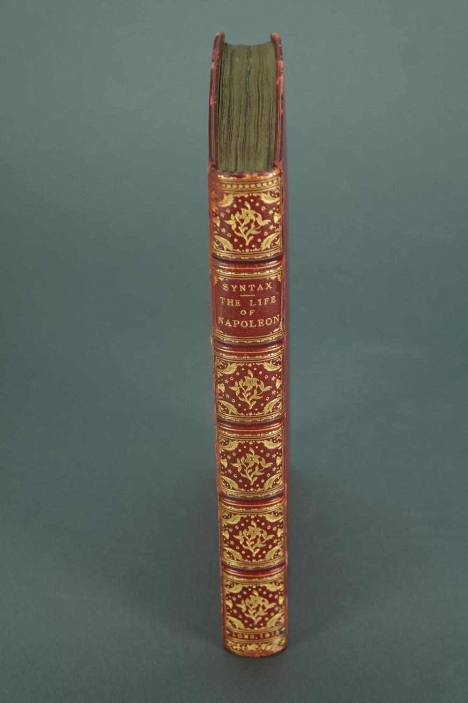 Lot 265: Combe. Cruikshank, illus. Life of Napoleon. 1815.