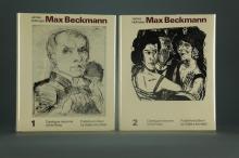 Lot 454: 2 vols. Beckmann. Catalogue Raisonne. 1990.