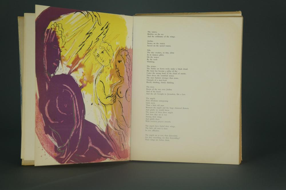 Lot 231: Chagall. Illustrations for the Bible. 1956. 1st ed