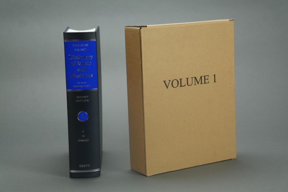 Lot 323: The New Grove Dictionary and Music and Musicians.