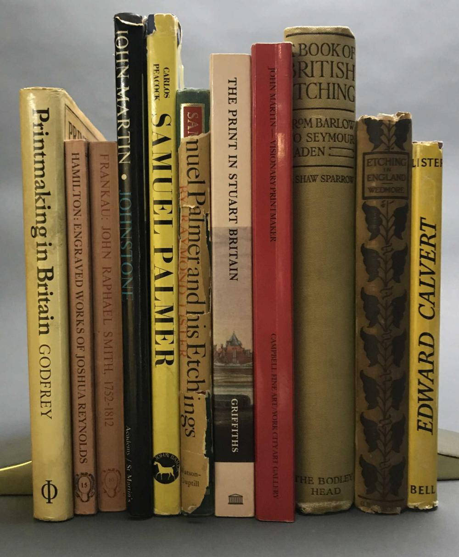 Lot 375: 11 vols. British Printmakers.