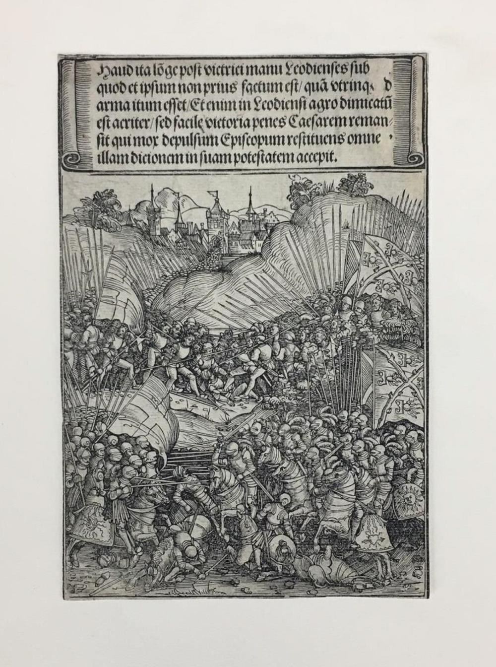 Lot 369: Wolf Traut. From Maximilian's Arch. ca. 1520.