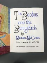 Lot 196: Arion Press. Boobus and the Bunnyduck. #32/100.