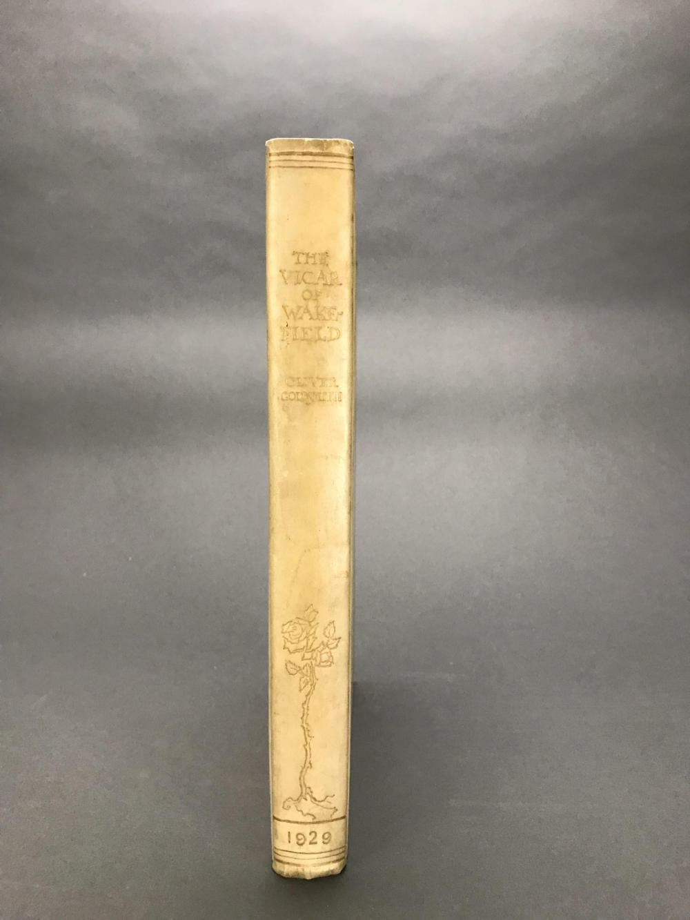 Lot 260: Rackham illus. Vicar of Wakefield. 1929. Signed.
