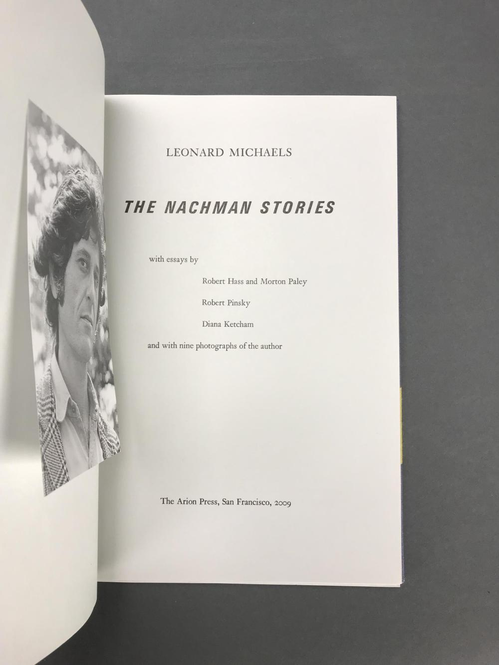 Lot 197: Arion Press. Nachman Stories. Number 33 of 300.