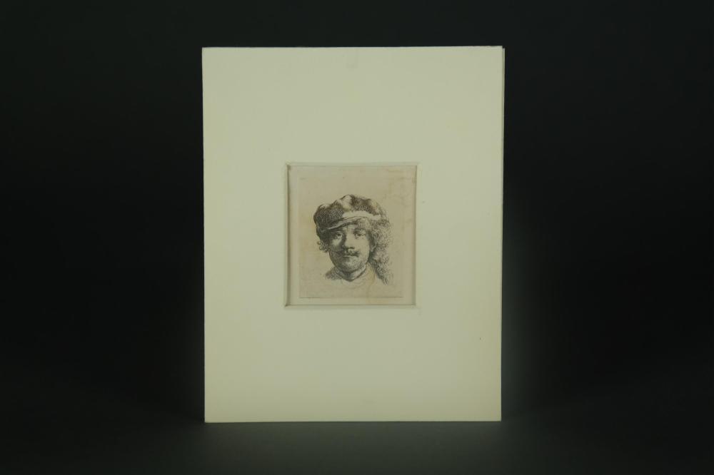 Lot 361: After Rembrandt. Self-portrait. ca. 18th c.