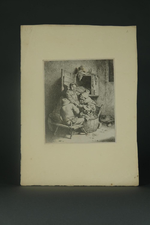 Lot 332: Cornelis Bega. Group of 17 etchings. 18th c.