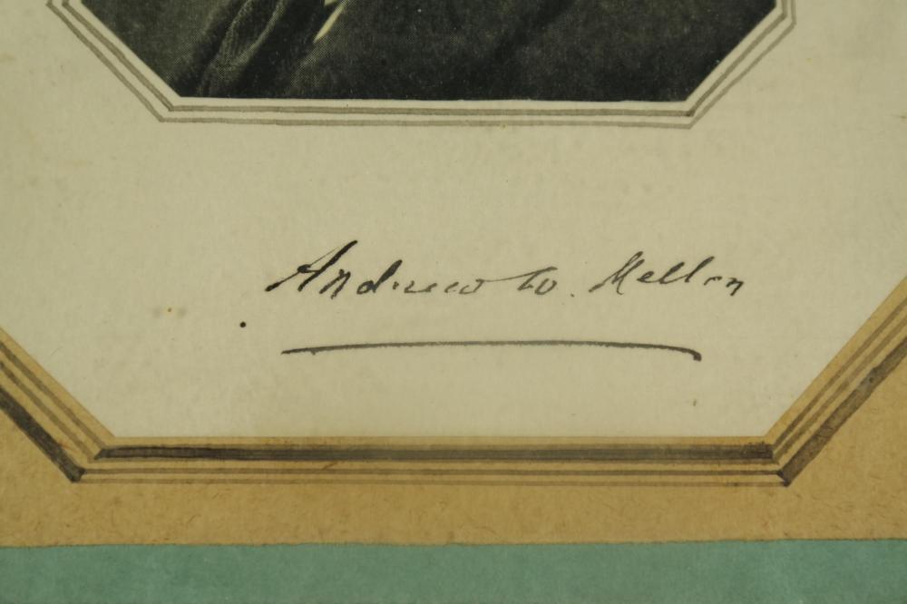 Lot 11: 3 Sgd Pcs incl: A. Mellon, A. Stagg, K. Menninger