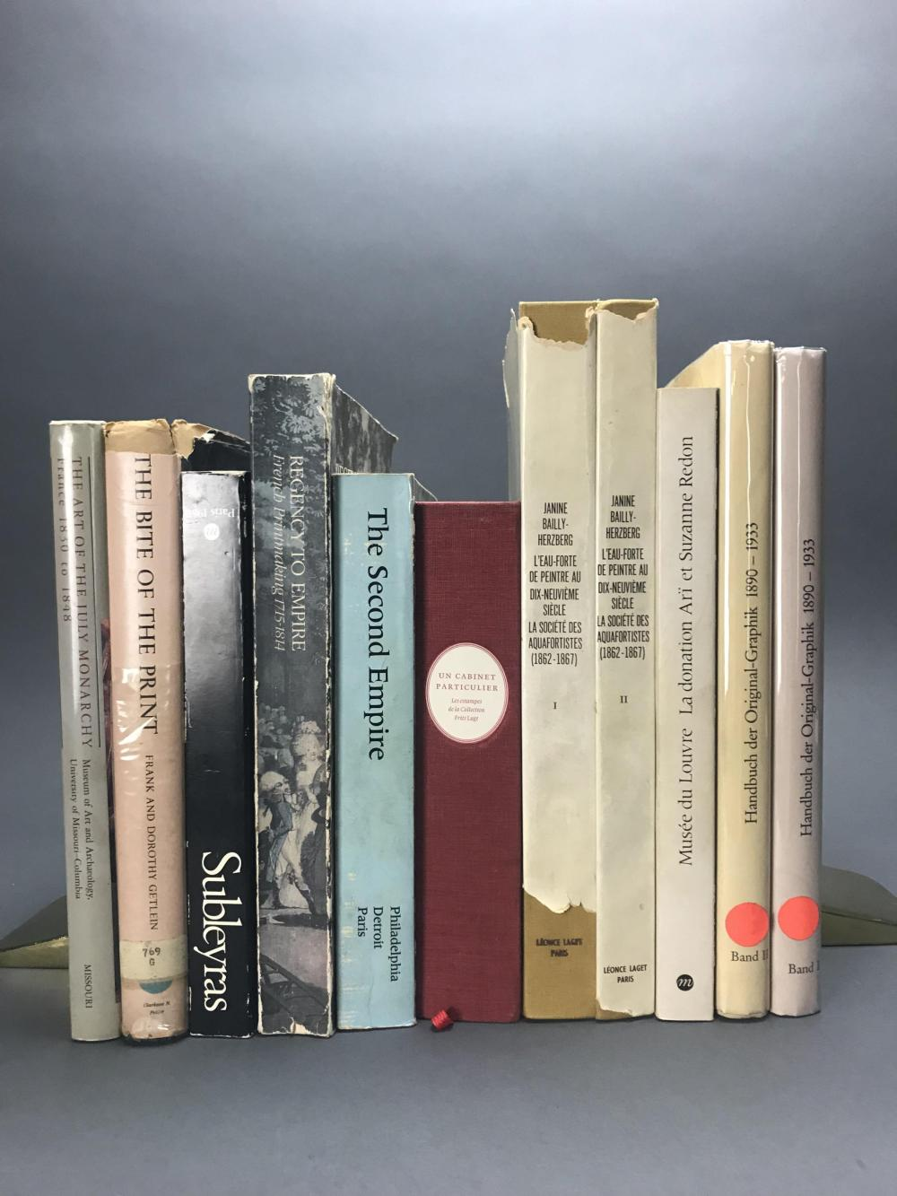 Lot 446: 11 vols. Catalogue Rasionnes & Reference.