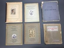 Lot 384: 17 vols. Incl: Catalogue Raisonnes.