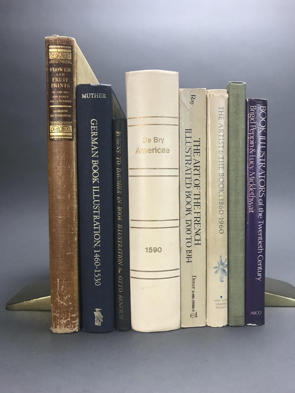 Lot 441: 8 vols. Illustrated Books Reference.