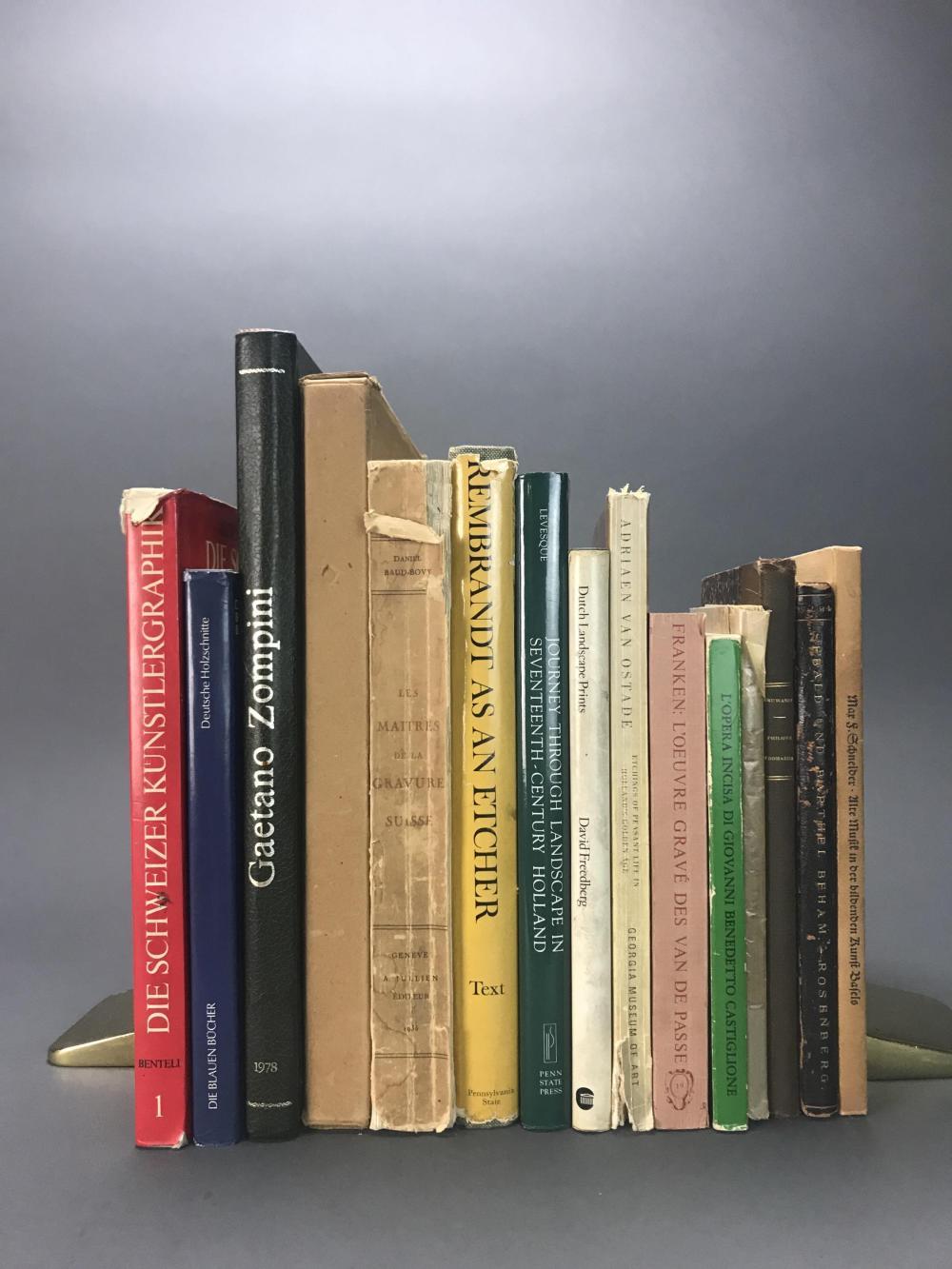 Lot 382: 15 vols. Incl: Catalogue Rasionnes. Ostade.