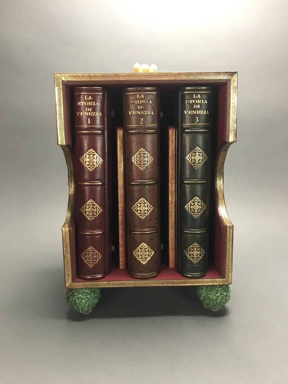 3 vols. La Storia di Venezia. Custom Venetian Case