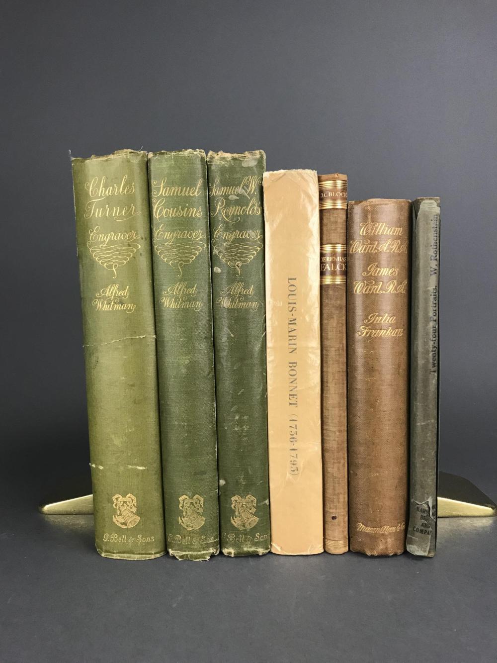 Lot 435: 7 vols. Catalogue Raisonnes. Inc: Whitman.