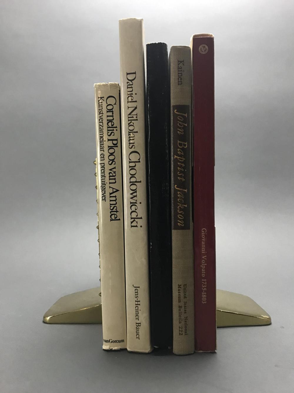 Lot 432: 7 vols. 18th c. Printmakers.