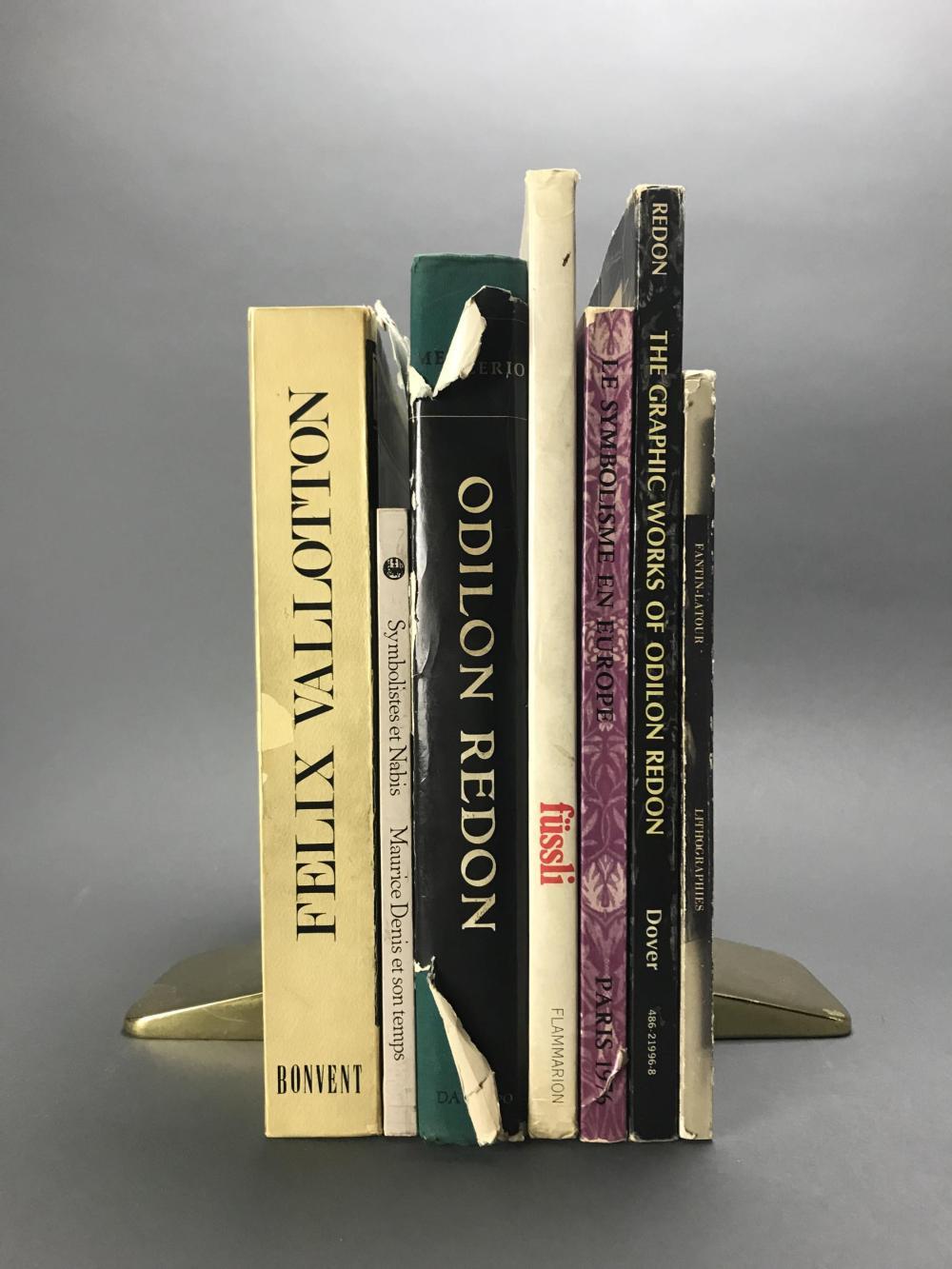 Lot 448: 9 vols. Symbolist & Nabis. Catalogue Raisonnes.