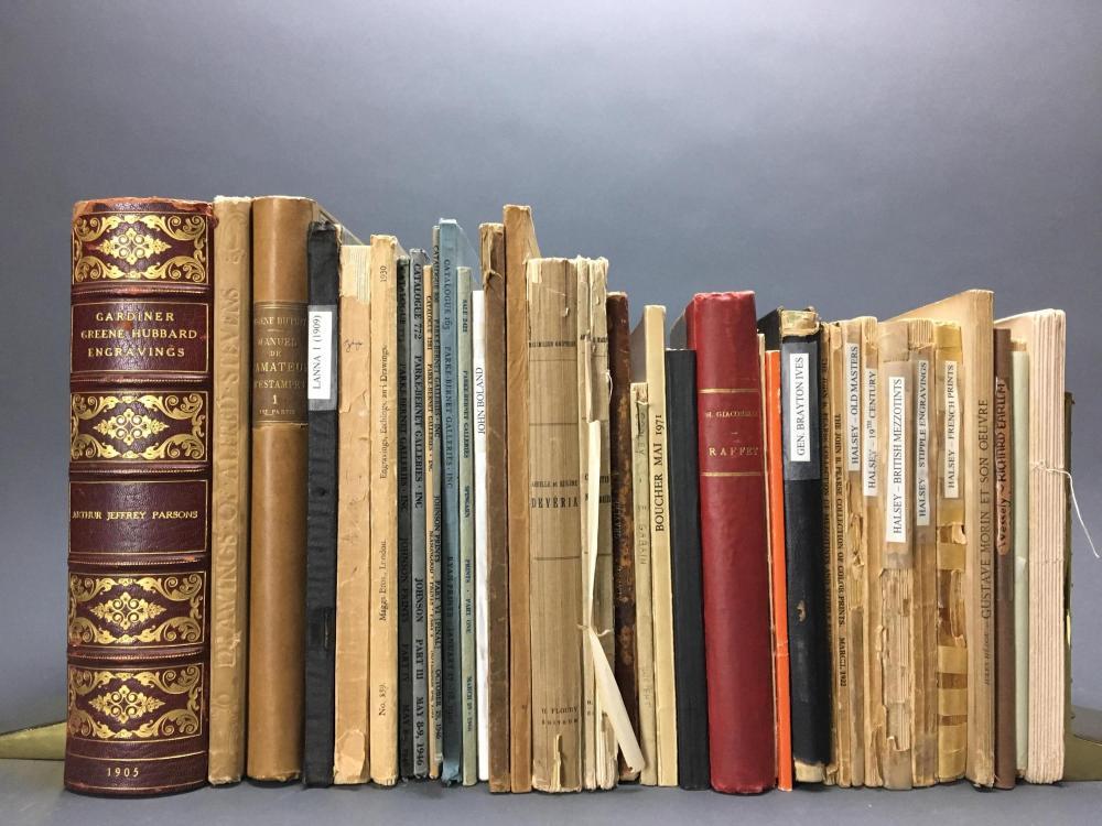 Lot 405: 36 vols. Catalogue Raisonnes & art reference.