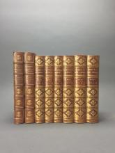 Lot 167: 8 vols. Decorative Leather Bindings. Inc: Lecky.