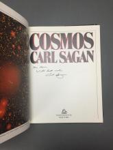 Lot 217: Carl Sagan. Cosmos. 1980. Signed.
