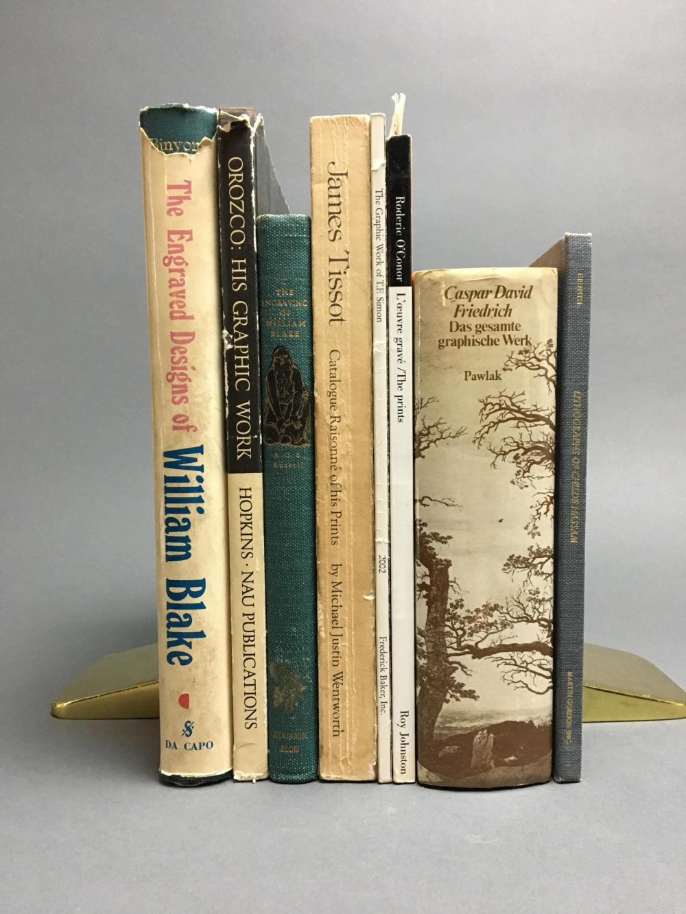 Lot 442: 8 vols. Catalogue Raisonnes.