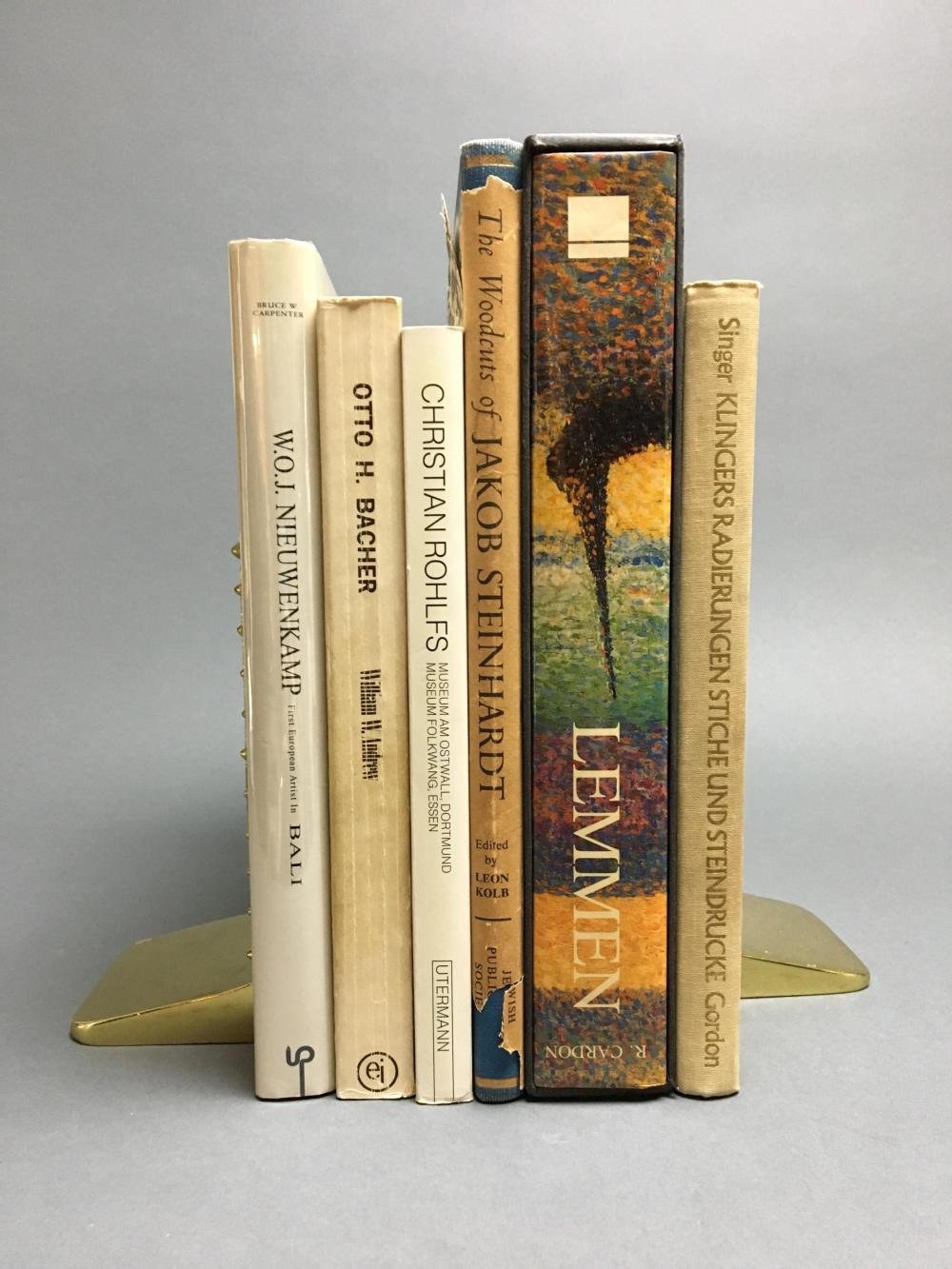 Lot 425: 6 vols. Catalogue Raisonnes.