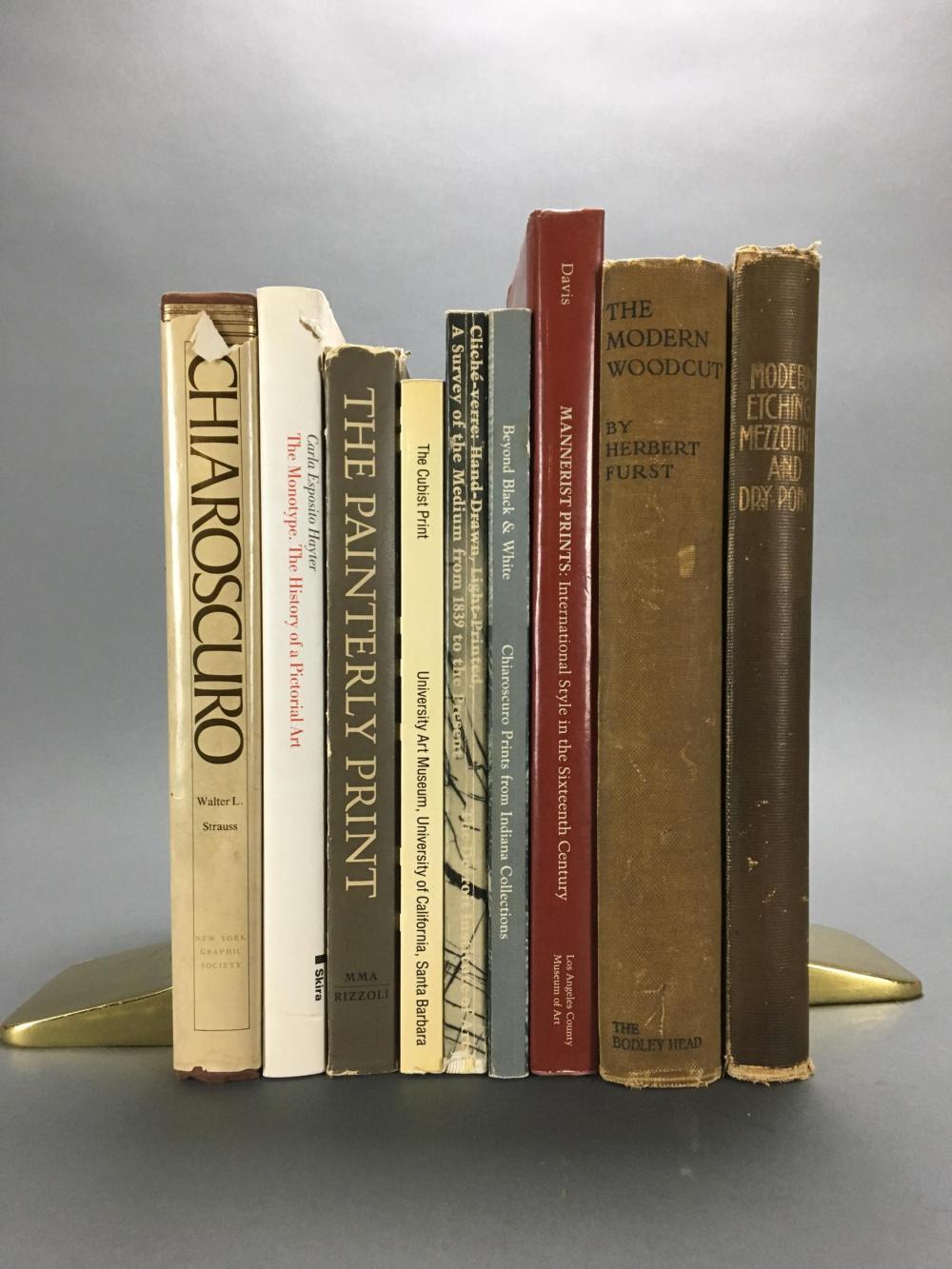 Lot 449: 9 vols. Printing Techniques.