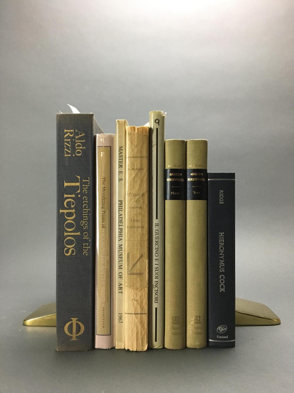 Lot 430: 8 vols. Old Masters.
