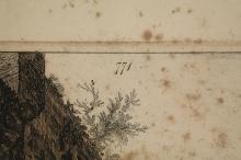 Lot 358: Piranesi. Veduta degli Avanzi delle Fabbriche...