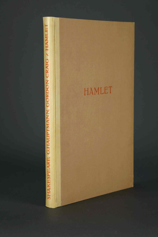 Lot 204: Shakespeare. Hamlet facsimile. 1972.