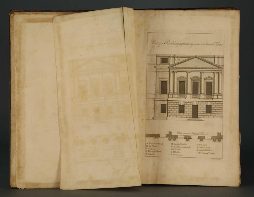 Lot 225: Ware. Complete Body of Architecture. 2 vols. 1756.