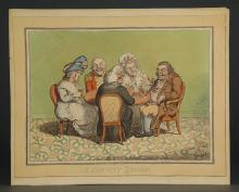 Lot 342: James Gillray. A Decent Story. 1795.