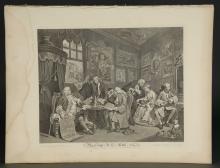 Lot 348: Hogarth. Marriage a La Mode. 1745.