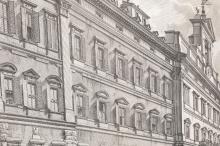 Lot 355: Piranesi. Veduta della Gran Curia... ca. 1752.