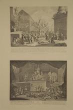 Lot 350: Hogarth. Group of 15 prints. 1822 Heath Edition.