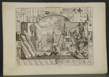 Lot 351: Hogarth. Group of 16 Prints. ca. 1733-1822.