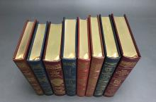 Lot 157: 8 vols. Easton. Signed Editions. Fiction