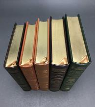 Lot 152: 5 vols. Easton. Sgd. Books with TV adaptations.