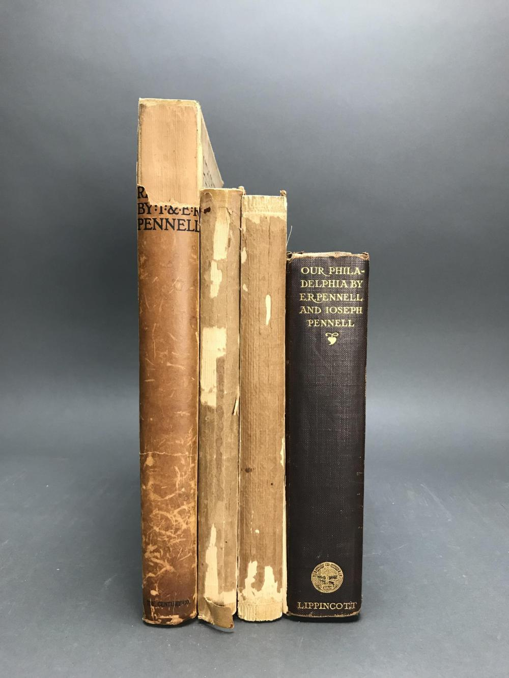 Lot 408: 4 volumes. Joseph Pennell Catalogues.