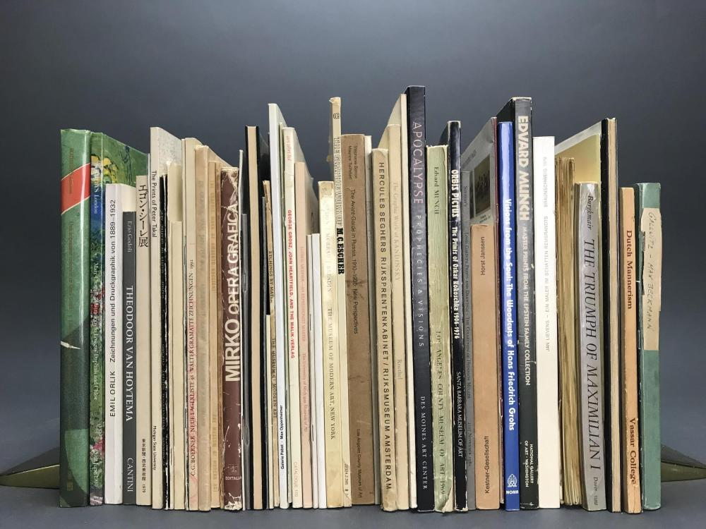 Lot 421: 52 vols. European Printmakers.