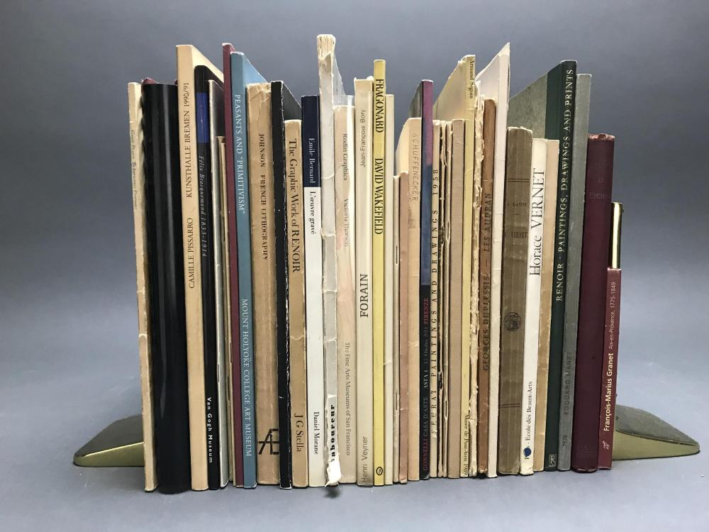 Lot 415: 40 vols. French Printmakers.