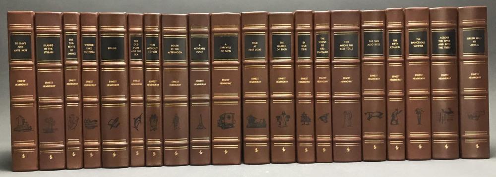 20 volumes. Hemingway. Easton. 1990.