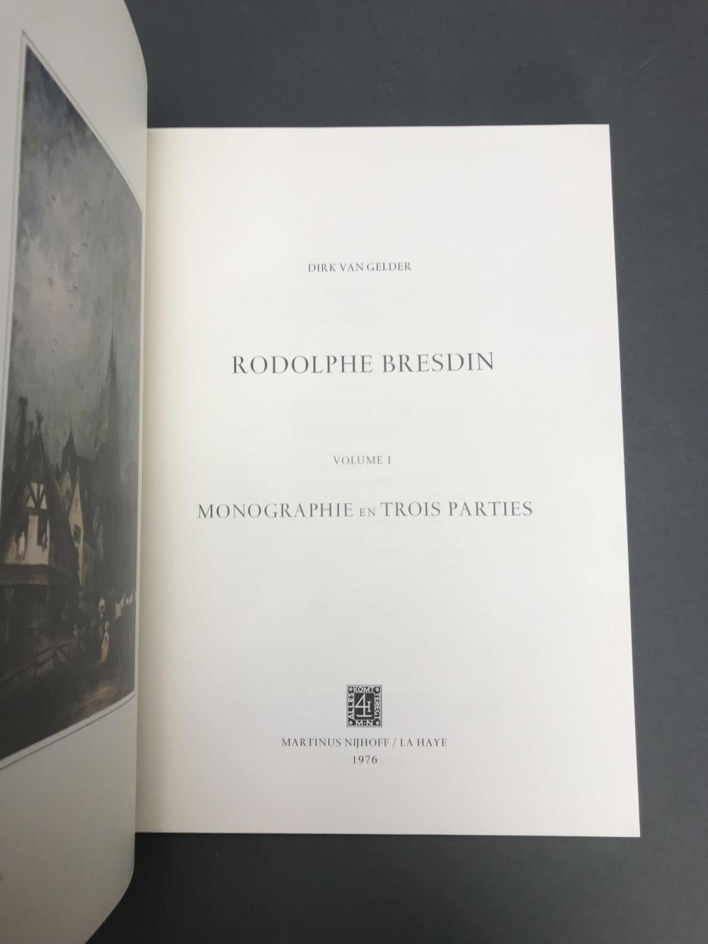 Lot 471: Rodolphe Bresdin. Catalogue Rasionne. 1976.