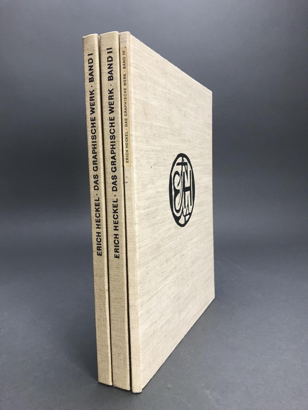 Lot 458: Erich Heckel: Das Graphische Werk. 1974