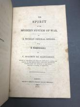 Lot 315: 3 vols on Military History and Tactics. 1781-1825.