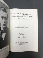 Lot 320: 10 vols. Winston Churchill. 1897-1963.