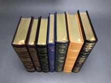 Lot 155: 7 vols. Easton. Sgd. Books w/ film adaptations.
