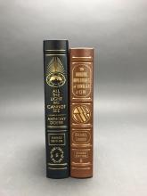 Lot 145: 2 vols. Easton. Signed Eds. WWII Fiction.
