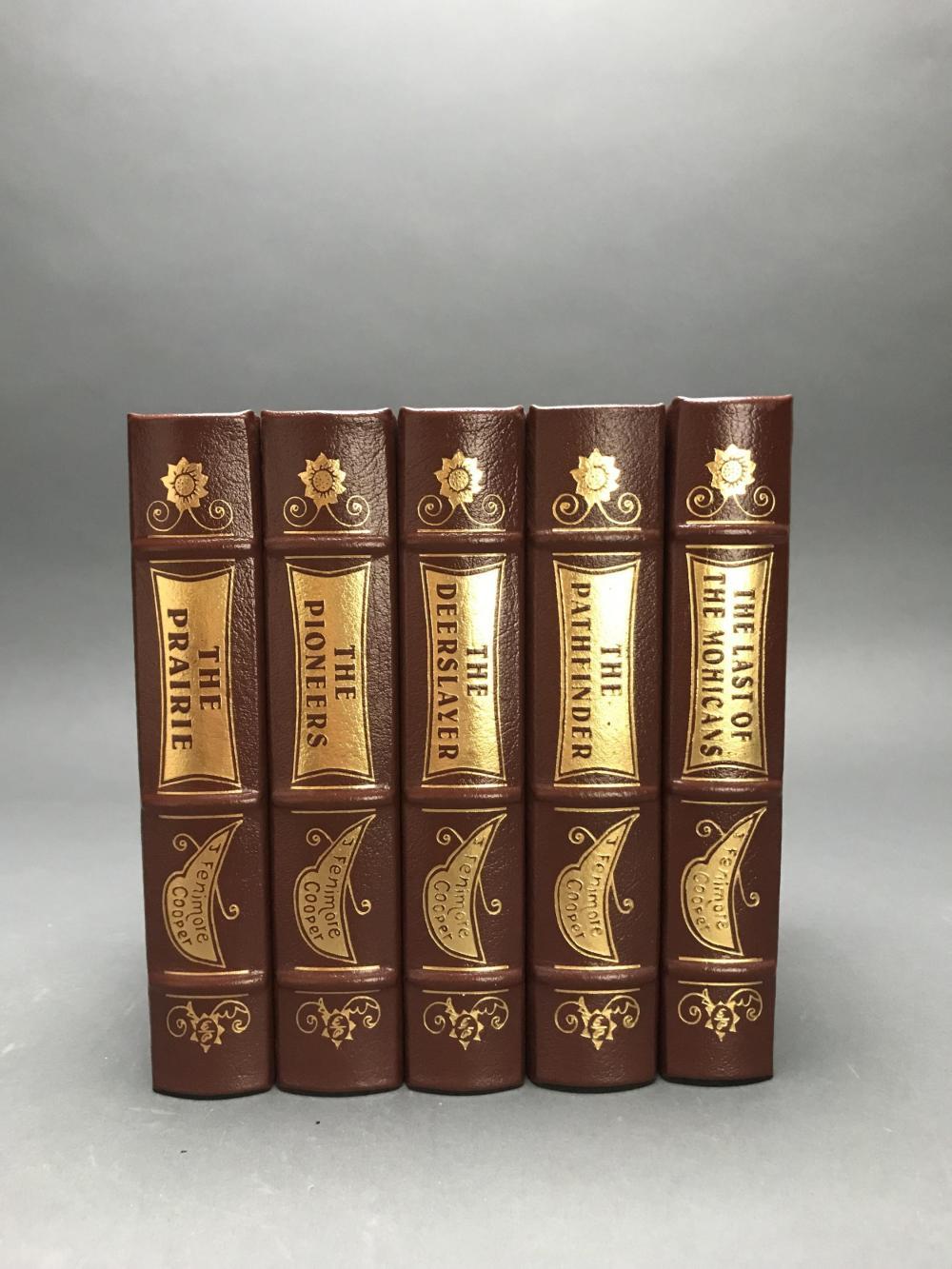 Lot 154: 5 vols. James Fenimore Cooper. Easton.