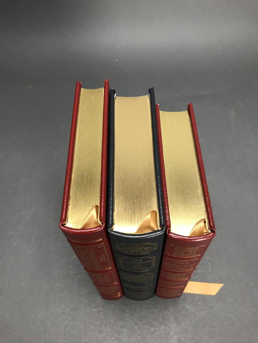 Lot 149: 3 vols. Easton. Signed Eds. Black Americana.