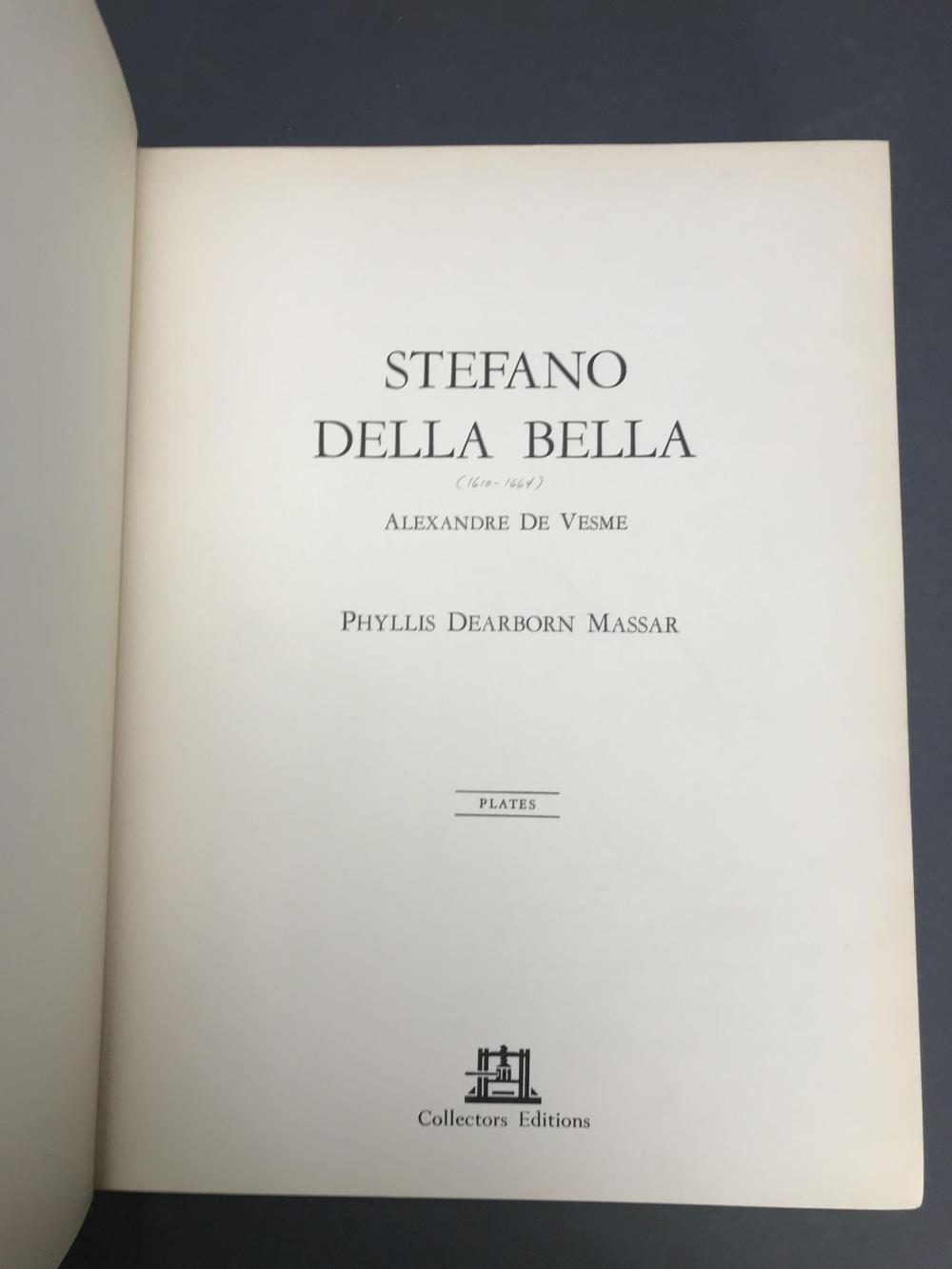 Lot 391: 2 Titles, 3 vols. Stefano Della Bella. C.Rs.